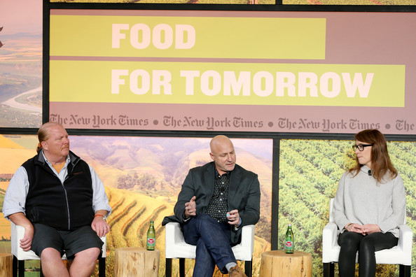 Mario batali and andrea reusing the new york times food for tomorrow
