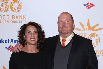 Mario Batali with friendly, attractive, Wife Susi Cahn