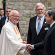 Mario Draghi City Of Aachen Awards Charlemagne Prize To Emmanuel Macron