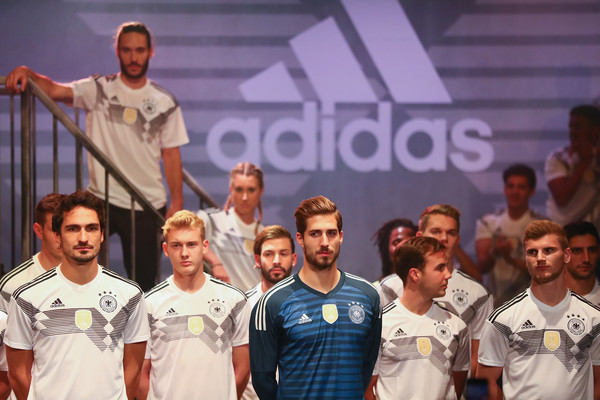 53f21963e80 Germany and Adidas Present the New Kit for the 2018 FIFA World Cup Russia