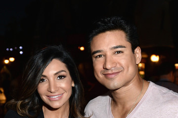 Mario Lopez Courtney Mazza Universal Studios Hollywood Hosts the Opening of 'The Wizarding World of Harry Potter' - Inside