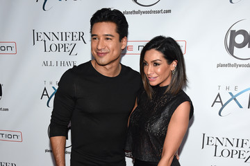 Mario Lopez Courtney Mazza Jennifer Lopez Launches 'Jennifer Lopez: All I Have' at Planet Hollywood in Las Vegas - Arrivals