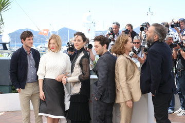 Marion Cotillard Lea Seydoux 'It's Only the End of the World (Juste La Fin Du Monde)' Photocall - The 69th Annual Cannes Film Festival