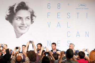"Marion Cotillard ""Macbeth"" - Press Conference - The 68th Annual Cannes Film Festival"