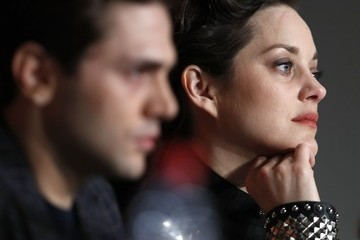 Marion Cotillard Xavier Dolan 'It's Only the End of the World (Juste La Fin Du Monde)' Press Conference - The 69th Annual Cannes Film Festival