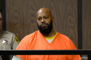 """Marian """"Suge"""" Kinght appears at his arraignmet at Compton Courthouse on February 3, 2015 in Compton, California.  Knight is charged with murder and attempted murder after a hit-and-run incident following an argument in a parking lot on January 29."""