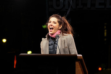 Marisa Tomei We Stand United NYC Rally