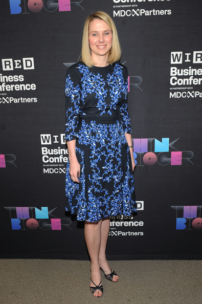Marissa Mayer Photos Photos - Wired Business Conference