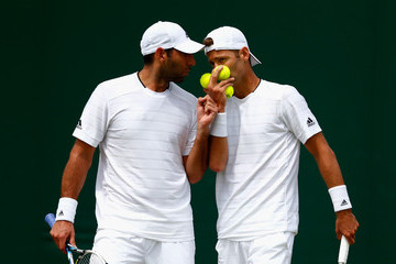 Mariusz Fyrstenberg Day Four: The Championships - Wimbledon 2015