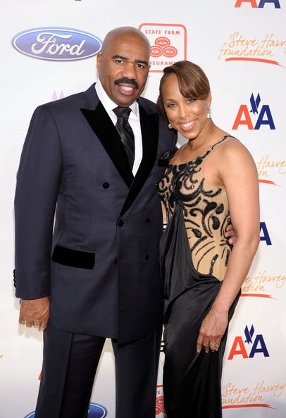 Steve Harvey and Marjorie Harvey attend the 2nd annual Steve Harvey