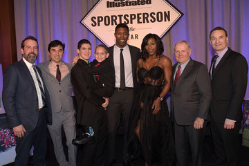 Mark Bechtel Sports Illustrated Sportsperson of the Year Ceremony 2015