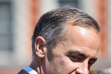 Mark Carney Trooping the Colour 2017