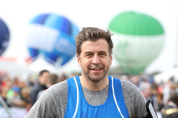 Mark Chapman Celebrities Participate in the Virgin London Marathon