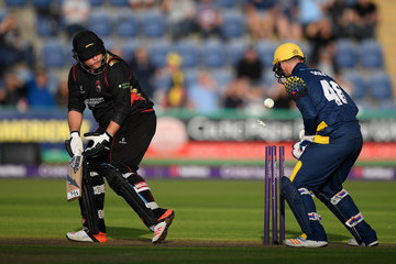 Mark Cosgrove Glamorgan v Leicestershire Foxes - NatWest T20 Blast Quarter-Final
