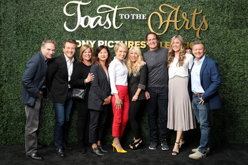 Mark Cuban Robert Herjavec Sony Pictures Television's Emmy FYC Event 2019 'Toast to the Arts'
