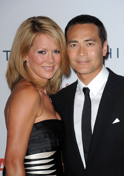 Mark Dacascos with fun, enigmatic, Wife Julie Condra