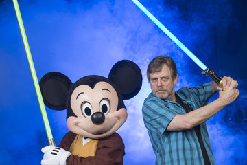Mark Hamill Mark Hamill Visits Walt Disney World