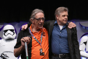 Mark Hamill 'Star Wars: The Force Awakens' Celebration 2015