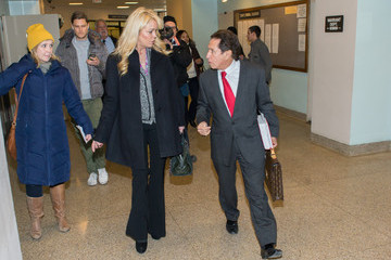 Mark Heller Dina Lohan Appears in Court