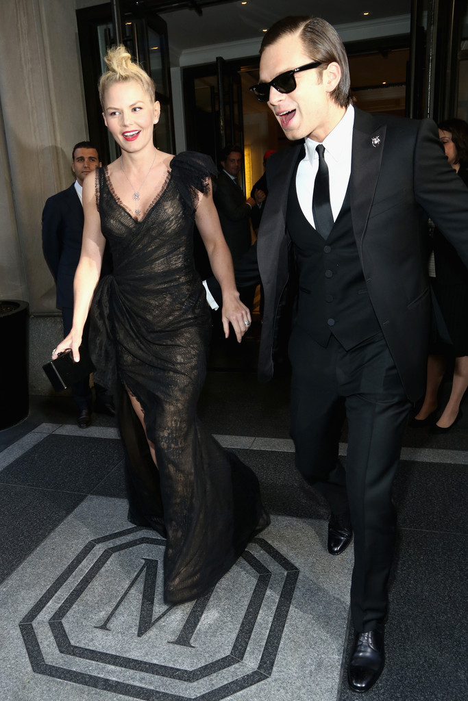 Jennifer Morrison Photos - Guests Leave the Met Gala in ...