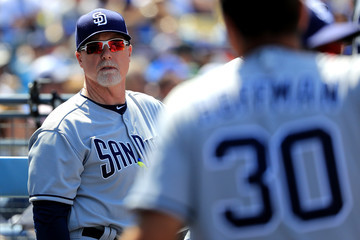 Mark McGwire San Diego Padres v Los Angeles Dodgers