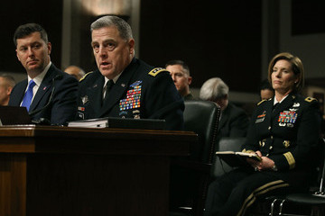 Mark Milley Senate Holds Hearing on Military Decision to Open All Combat Units to Women