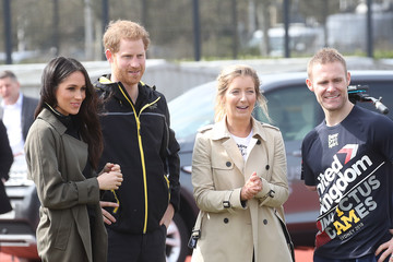 Mark Ormrod Prince Harry And Meghan Markle Attend UK Team Trials For The Invictus Games Sydney 2018