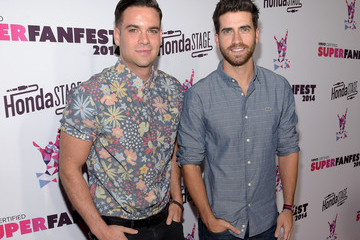 Mark Salling Arrivals at the SuperFanFest Show