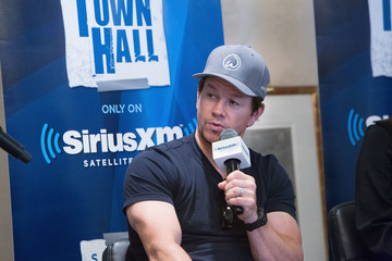 Mark Wahlberg SiriusXM's 'Town Hall' With the Cast of 'Transformers: The Last Knight'