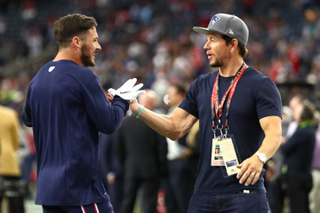 Mark Wahlberg Super Bowl LI - New England Patriots v Atlanta Falcons