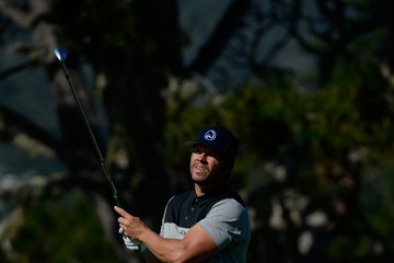 Mark Wahlberg AT&T Pebble Beach National Pro-Am - Round Three