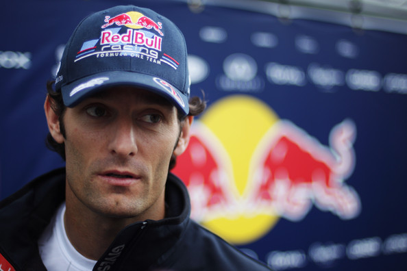 Mark Webber Mark Webber of Australia and Red Bull Racing is interviewed by the media during previews to the Belgian Formula One Grand Prix at the Circuit of Spa Francorchamps on August 25, 2011 in Spa Francorchamps, Belgium.