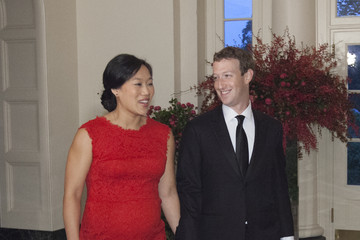 Mark Zuckerberg Priscilla Chan President Obama Hosts Chinese President Xi Jinping For State Visit