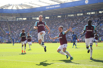 Marko Arnautovic Leicester City vs. West Ham United - Premier League
