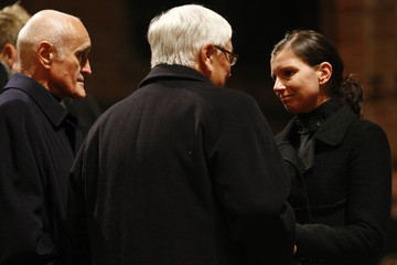 Teresa Enke 'Marktkirche' Hold Service and Mourning Walk for Enke