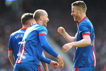 Marley Watkins Falkirk v Inverness Caledonian Thistle - The William Hill Scottish Cup Final