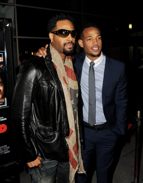 Shawn Wayans and Marlo...