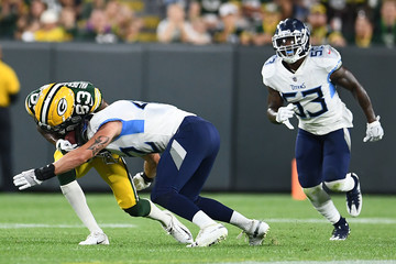 Marquez Valdes-Scantling Tennessee Titans vs. Green Bay Packers