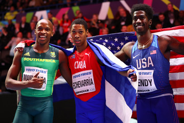 Marquis Dendy IAAF World Indoor Championships - Day Two