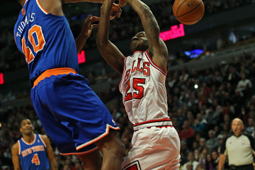 Marquis Teague New York Knicks v Chicago Bulls