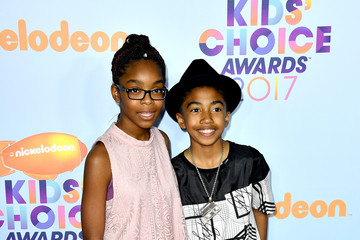 Marsai Martin Nickelodeon's 2017 Kids' Choice Awards - Arrivals