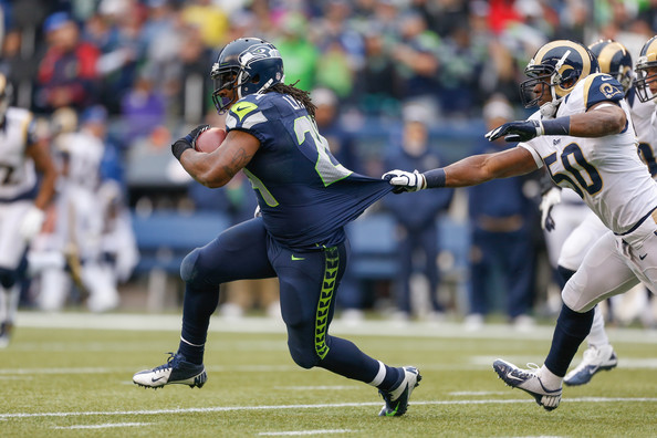 Marshawn Lynch, Seattle Seahawks vs. St. Louis Rams