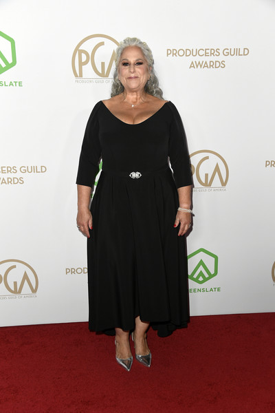 31st Annual Producers Guild Awards - Arrivals [red carpet,clothing,dress,carpet,shoulder,cocktail dress,little black dress,flooring,footwear,joint,arrivals,marta kauffman,hollywood palladium,los angeles,california,annual producers guild awards,marta kauffman,stock photography,getty images,photograph,photography,united states,image,shutterstock]