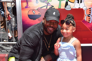 Martellus Bennett Los Angeles Premiere Of Warner Bros. Animations' 'Teen Titans Go! To The Movies' - Arrivals