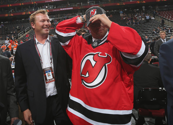 Martin Brodeur And Anthony Brodeur Photos Photos 2013 Nhl Draft