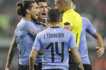 Martin Caceres Mexico vs. Uruguay - International Friendly