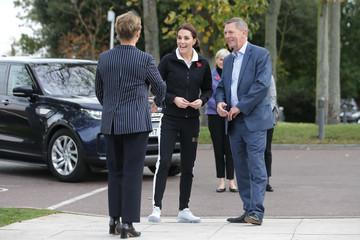 Martin Corrie The Duchess Of Cambridge Visits The Lawn Tennis Association