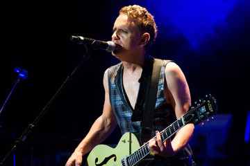 Martin Gore Depeche Mode Performs in Michigan
