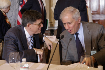 Martin Gruenberg Jack Lew Presides Over Financial Stability Oversight Council Meeting