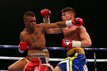 Martin J Ward Boxing at First Direct Arena Leeds